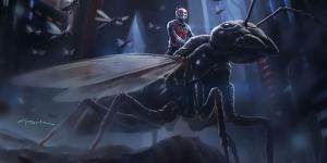 Концепт-постер «Человека-Муравья»