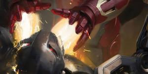 Два концепт-постера фильма «Мстители 2 Эра Альтрона»