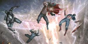 Обложка Наступления Мстителей