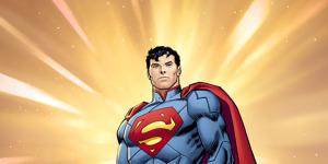 Обложка Супермена от Джона Ромиты-ст.