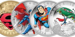 Канадские доллары Супермена