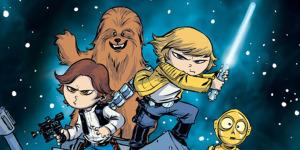 Общий постер Star Wars от Скотти Янга