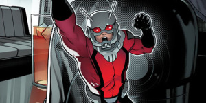 Уменьшающаяся обложка Ant-Man #1