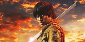 Постеры главных героев фильма «Атака титанов»