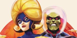 Вариантные обложки DC. Кино
