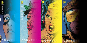 Вариантные обложки DC. Апрельская Конвергенция