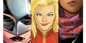 Женский журнал от Marvel