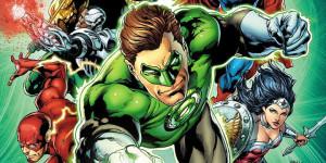 Вариантные обложки DC. И всё зелёное