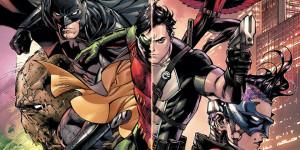 Первые два месяца Batman and Robin Eternal