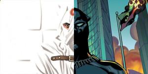 Белое и чёрное Marvel